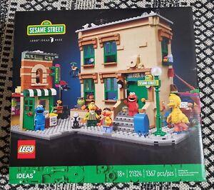 LEGO IDEAS #032 123 Sesame Street 21324New Elmo+Big Bird+Cookie Monster