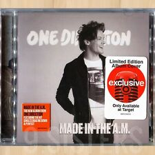 LOUIS Tomlinson COVER----> ONE DIRECTION Made In The A.M. TARGET 1D CD      0815