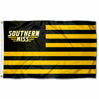 University of Southern Mississippi Eagles Stars and Stripes Nation USA Flag