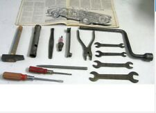 ALFA ROMEO GIULIETTA 101/750/750SS ORIGINAL AND USED TOOL KIT WITHOUT POUNCH(39)