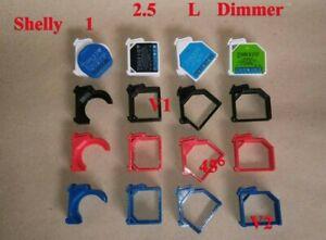 Hutschienenhalterung Shelly Hutschienenhalter Shelly DIN Schiene / Rail 35 mm