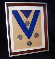 Framed Norcal Hunt Seat Equitation Over Fences Medal Finals Champion Medals