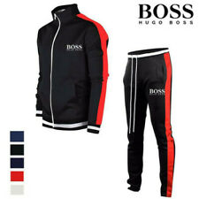 Herren Zipper Jogginganzug Set Jogging Hose Jacke Sportanzug Sporthose Fitness