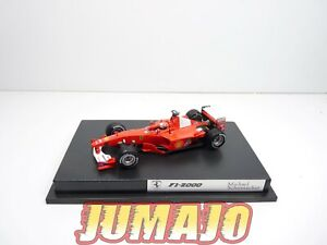 FOR24 voiture 1/43 HOT WHEELS : formule 1 FERRARI F1-2000 Schumacher