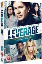 Leverage Complete Series 3 DVD All Episodes Third Season Original UK Rel NEW R2
