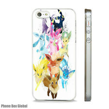 POKEMON CARTOON WATER ART  CLEAR CASE FOR IPHONE 4S 5 5S 5C 6 6S 7 8 SE X PLUS