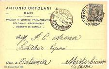 BARI - ANTONIO ORTOLANI - Prodotti Chimici Farmaceutici - Coloniali - Profumeria