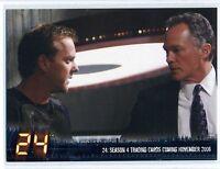 Artbox 2006 24 Season 4 Trading Cards Promo NSU-1