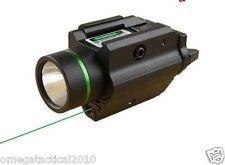 Vector PISTOL LIGHT & GREEN LASER Flashlight combo for Ruger p95 Glock