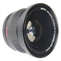 Bower 0.42x Wide Angle Fisheye Lens for Sony Alpha A5000 A5100 A6000 A6100 A6300