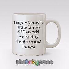 I Might Wake Up précoce et Go course fitness gym tasse thé café CADEAU AMUSANT