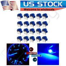 20Pcs B8.4D Blue LED Instrument Cluster Dash Gauge Light Bulb For Saturn/Ford