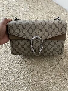 Authentic Gucci Small Dionysus GG Shoulder Bag:$1700