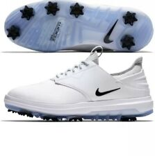 Nike Golf Air Zoom Direct WIDE Size 9.5 Wide  Shoes Spikes White  923966-100