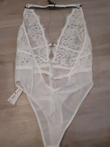 Ann Summers The Appealing White Body Size 16/18  RRP £35 New & tagged