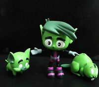lot of 3 DC Comics TEEN TITANS GO! Action Figure BEAST BOY w - Jazwares