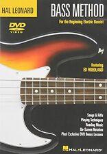 Hal Leonard Bass Method Beginner's Pack [DVD/CD] (2005, DVD NEUF)