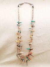 Necklace (N42T) Zuni: Bird Fetish