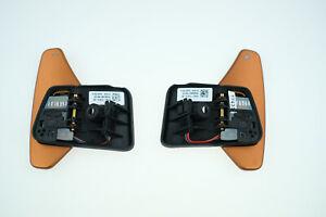 Jaguar F Pace Type XF XK Evoque L405 L494 Range Rover bronze paddle shift set LR