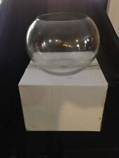 Glass Fish Bowl, 18cm Vase, Display, Wedding centrepiece, Party, Nicknacks.
