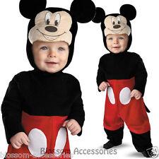 CK403 Mickey Mouse Disney Baby Infant Boys Fancy Dress Up Halloween Costume