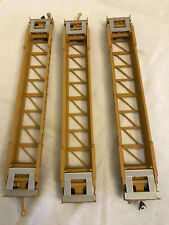 WALTHERS GOLD LINE HO RTR Husky 3 CAR SET DTTX, Metal chassis Metal wheels MINT!