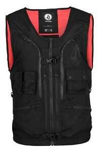Volcom Iguchi Slack Vest Black Small, Med, Large NEW 2022