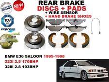für BMW E36 Limousine 323 328 95-98 HINTERE BREMSSCHEIBE SATZ + Bremsbelag