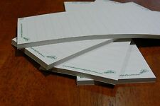 4 Notepads Unbleached Recycled Paper Stationery Shopping To Do List (no magnets)