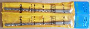 3 x SDS+ DRILL BITS 8mm x 150mm TUNGSTEN CARBIDE BRICK CONCRETE STONE MASONRY
