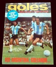 DIEGO MARADONA Debut Match Argentina 5 Vs Hungary 1 - GOLES Magazine