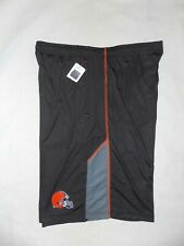 Men's NFL Team Apparel Clevland Browns Training Shorts X-Large Brown NWT
