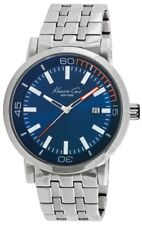 Kenneth Cole New York KC10020837  Blue Dial Stainless Steel Bracelet   Watch