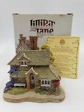 Lilliput Lane Cottages Handmade Sculpture Sweet Briar Cottage Deed Included 1990
