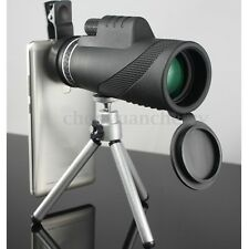 40x Zoom HD Optical Monocular Telescope Lens Mobile Phone Camera +Tripod Bracket