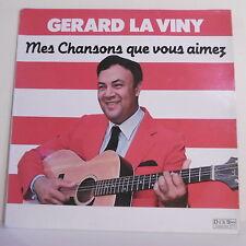 """33T Gerard LA VINY Antilles Disque LP 12"""" MES CHANSONS QUE VOUS AIMEZ - DEBS 722"""