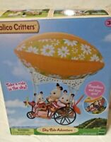 Calico Critters Sky Ride Adventure Zeppelin Fly Up To The Sky & Picnic Age 3+.