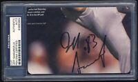 Jeff Samardzija 83 The Shark Cut Autograph Index Card SF Giants Signed Auto BX1