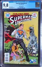 Superman Unchained (2013 DC) #2 Ibanez Bronze Age Variant CGC 9.8 1:50