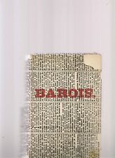 Martin du Gard JEAN BAROIS 1954 - Club du meilleur Livre