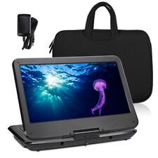 "NAVISKAUTO 14"" Full HD Tragbarer DVD Player Portable Monitor Display USB SD MP3"