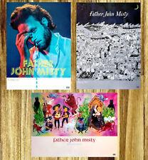 FATHER JOHN MISTY Gods Favorite Customer | Pure Comedy | Honeybear 3 Posters Lot