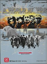 NEW & SEALED GMT Games - A WORLD AT WAR 3rd printing