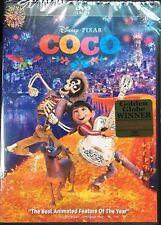 DISNEY PIXAR COCO(DVD ONLY)NEW UNOPENED