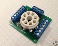 8 Pin Octal Ceramic Tube Socket Breadboard for Experiments & Prototypes