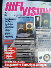 HIFI VISION 5/92 ELECTROCOMPANIET EC 3,100 DMB,BLAUPUNKT RTV 925,ROGERS P 20