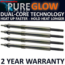 4x Diesel Heater Glow Plugs For Ssangyong Actyon Kyron 2.0 XDI  Dual Core
