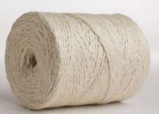 50M White Jute Twine Roll DIY Wrap Gift Hemp Rope Cord String Roll