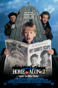 Posters USA - Home Alone 2 Lost In New York Movie Poster Glossy Finish - FIL712
