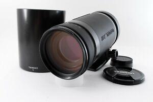 Tamron AF 200-400mm f/5.6 LD 75D Zoom Lens for Nikon [Excellent++] From JAPAN